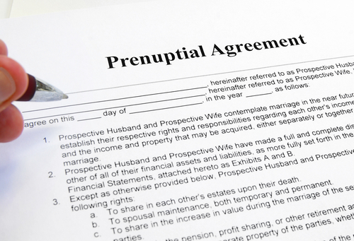 Prenuptial Agreement Nj  Ny