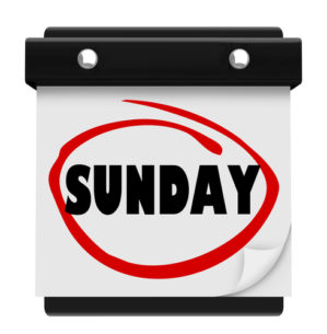 Sundays, Bloody Sundays by Rachel Alexander